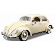 Miniatura Volkswagen Fusca 1955 1/18 Bburago