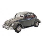 Miniatura Volkswagen Fusca Beetle Anthracite 1/76 Oxford