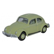 Miniatura Volkswagen Fusca Beetle Green 1/76 Oxford