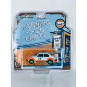 Miniatura Volkswagen Fusca Beetle Gulf 1966 1/43 Greenlight Greenmachine