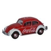 Miniatura Volkswagen Fusca Coca Cola 1/76 Oxford