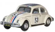 Miniatura Volkswagen Fusca Herbie 1/76 Oxford