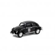 Miniatura Volkswagen Fusca Preto La Panamericana 1/64 Greenlight