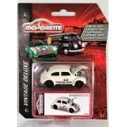 Miniatura Volkswagen Fusca Racing Vintage Deluxe 1/64 Majorette
