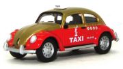 Miniatura Volkswagen Fusca Táxi  1/64 California Collectibles