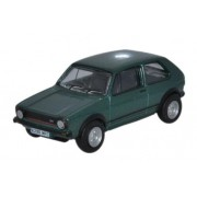 Miniatura Volkswagen Golf GTI  Green 1/76 Oxford