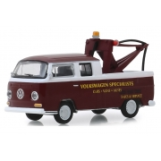 "Miniatura Volkswagen Kombi 1968 Type 2 ""Doka"" 1/64 Greenlight"