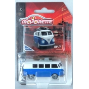 Miniatura Volkswagen Kombi com Prancha Vintage 1/64 Majorette