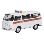 Miniatura Volkswagen Kombi RAF Police 1/76 Oxford