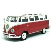 Miniatura Volkswagen Kombi Samba Vermelho 1/24 Maisto