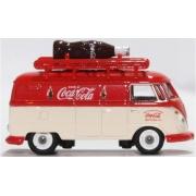 Miniatura Volkswagen Kombi T1 Coca Cola Bottle 1/76 Oxford