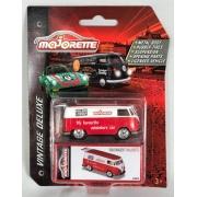 Miniatura Volkswagen Kombi T1 Majorette Vintage Deluxe 1/64 Majorette