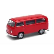 Miniatura Volkswagen Kombi T2 1972 1/64 California Minis