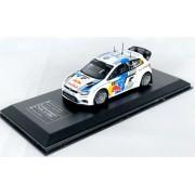 Miniatura Volkswagen Polo WRC Rally 1/43 Ixo