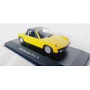 Miniatura Volkswagen Porsche 914/4 Amarelo 1/43 Maxichamps Minichamps