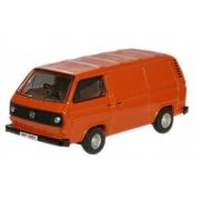 Miniatura Volkswagen T25 Van Orange 1/76 Oxford