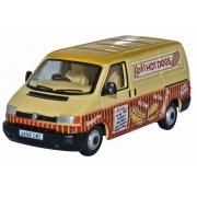 Miniatura Volkswagen T4 Van Bobs Hot Dog 1/76 Oxford