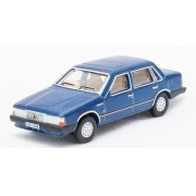 Miniatura Volvo 760 Blue Metallic 1/76 Oxford