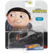 Miniatura Young Gru Minions Character Cars 1/64 Hot Wheels