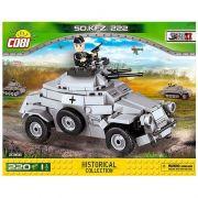 Veículo Militar SD KFZ blocos de montar com 220 peças Cobi