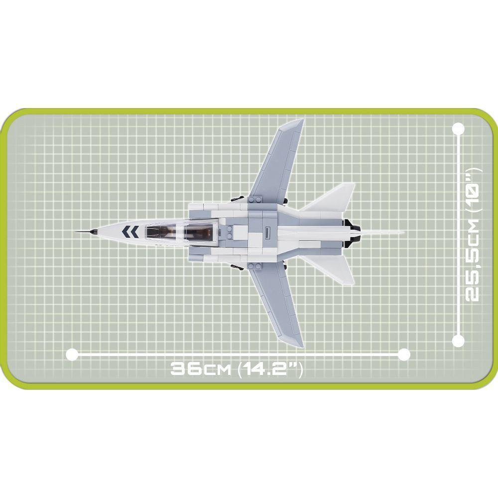 Avião Air Fighter Tornado Blocos de Montar 200 Peças Cobi