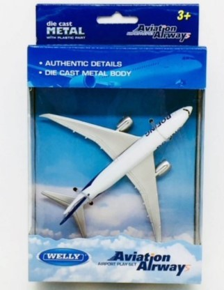 Avião Boeing 787 Welly