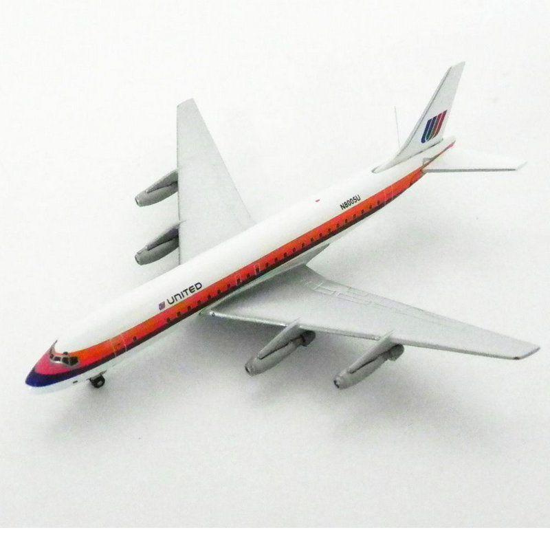 Avião DC-8-21 United Airlines N8005U 1/400 Gemini Jets