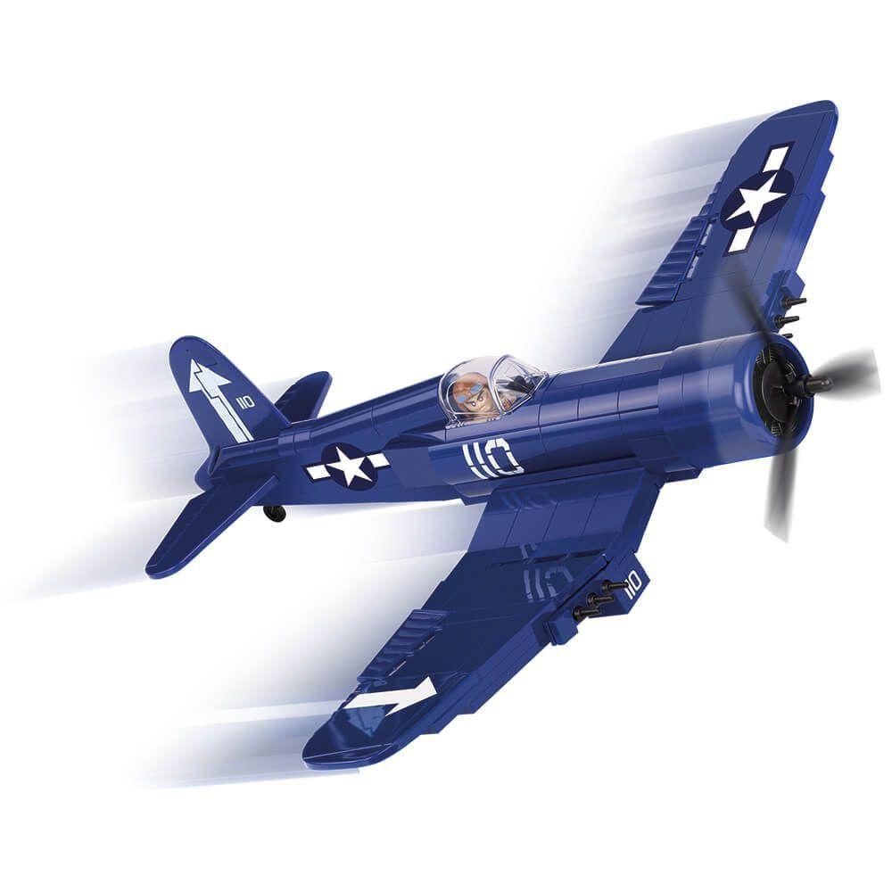 Avião Vought F4U Corsair Blocos de Montar 245 Peças Cobi