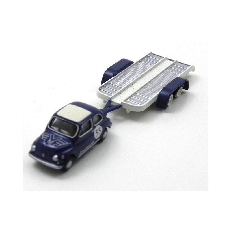 Miniatura Bubmobil  Fiat 500 Universa 1/87 Bub