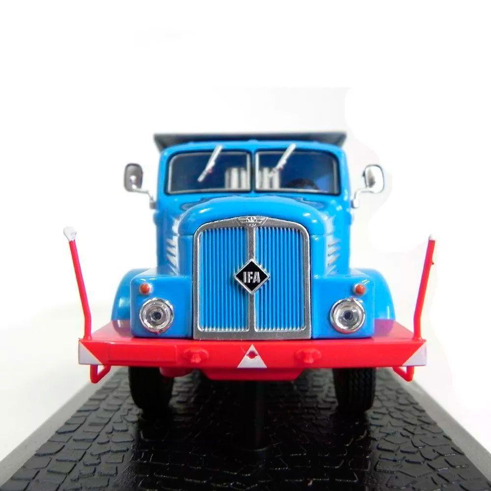 Miniatura Caminhão Basculante 1952 Ifa H6 Kipper 1/43 Atlas