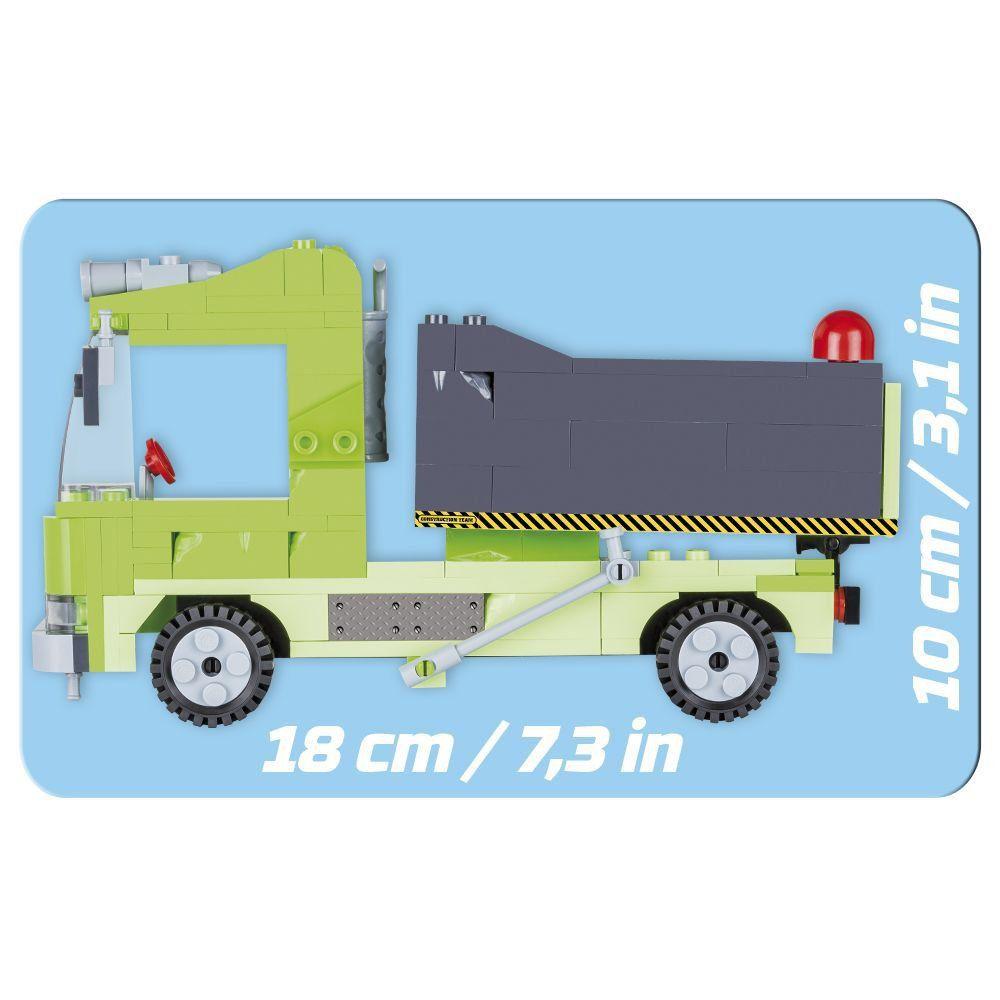 Caminhão de Obras Blocos de Montar 300 Peças Cobi