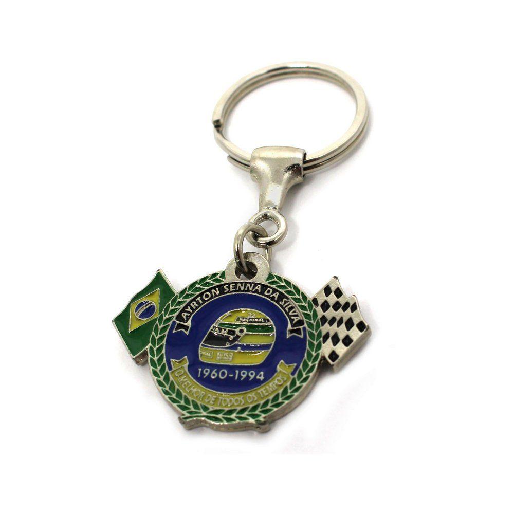 Chaveiro Capacete Ayrton Senna 34 anos 1960-1994