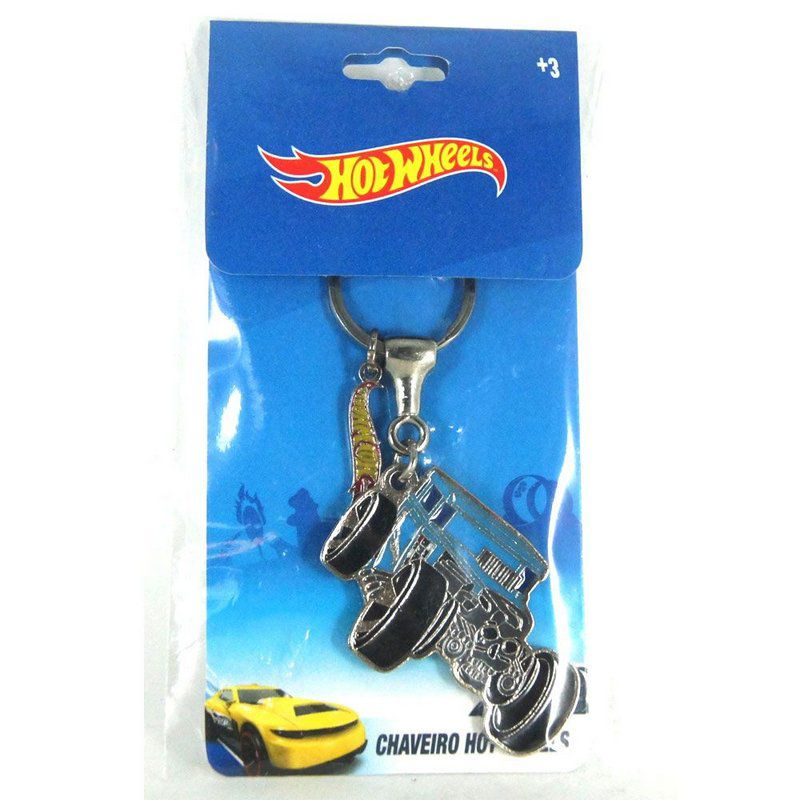 Chaveiro Hot Wheels Hot Rod Bone Shaker