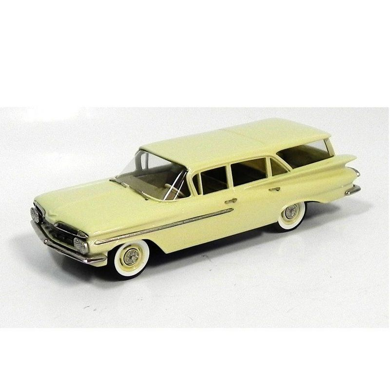 Miniatura Chevrolet Brookwood 4-Door S W 1959 1/43 – Brooklin Models