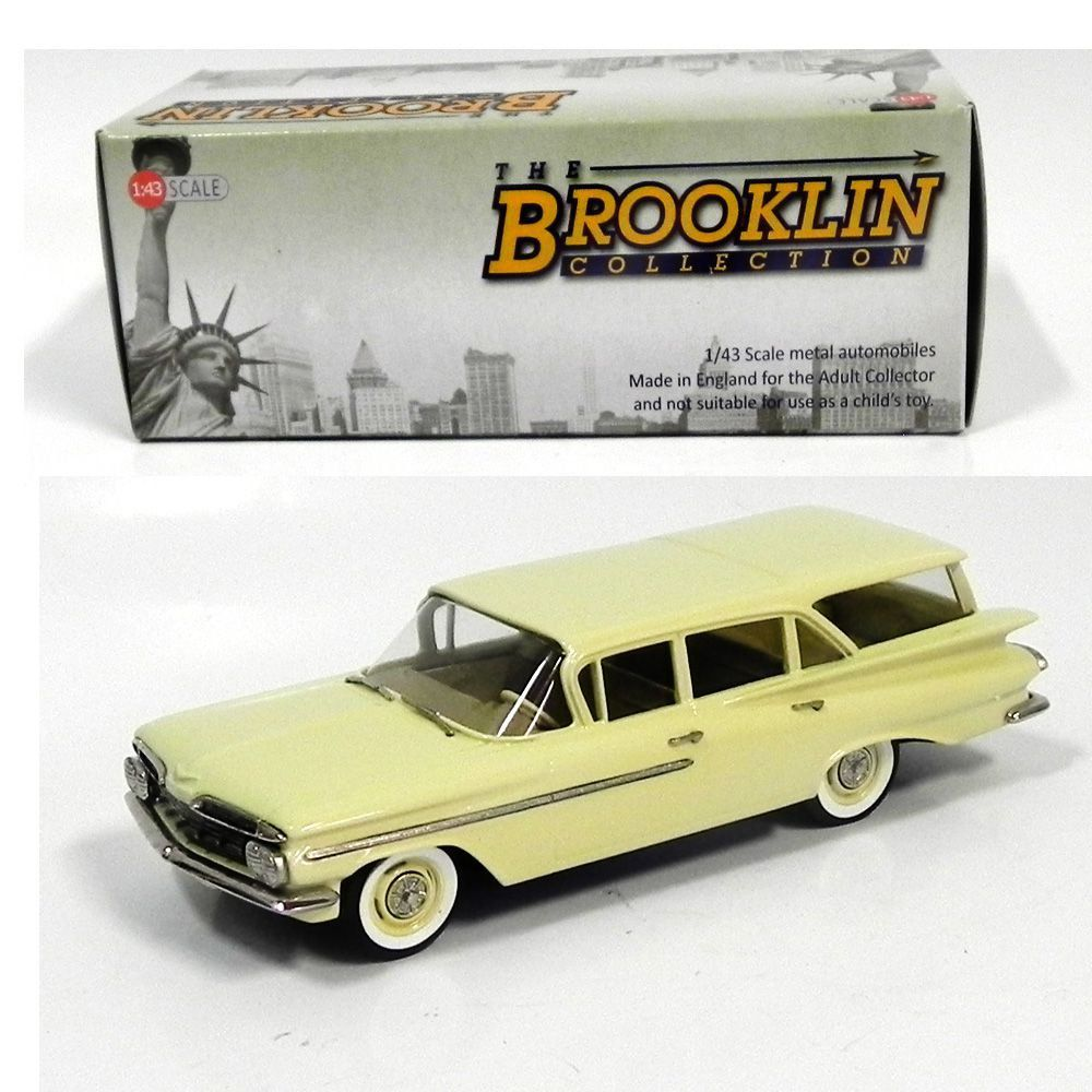 Miniatura Chevrolet Brookwood 4-Door S W 1959 1/43 – Brooklin Models