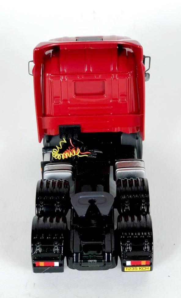 Miniatura Caminhão Scania Trailer & Load Marley Building 1/50 Corgi