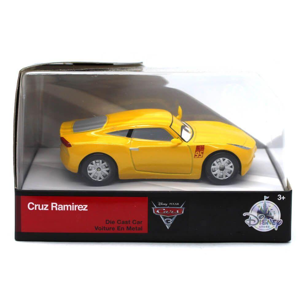 Miniatura Cruz Ramirez Disney Pixar Carros 3 1/43