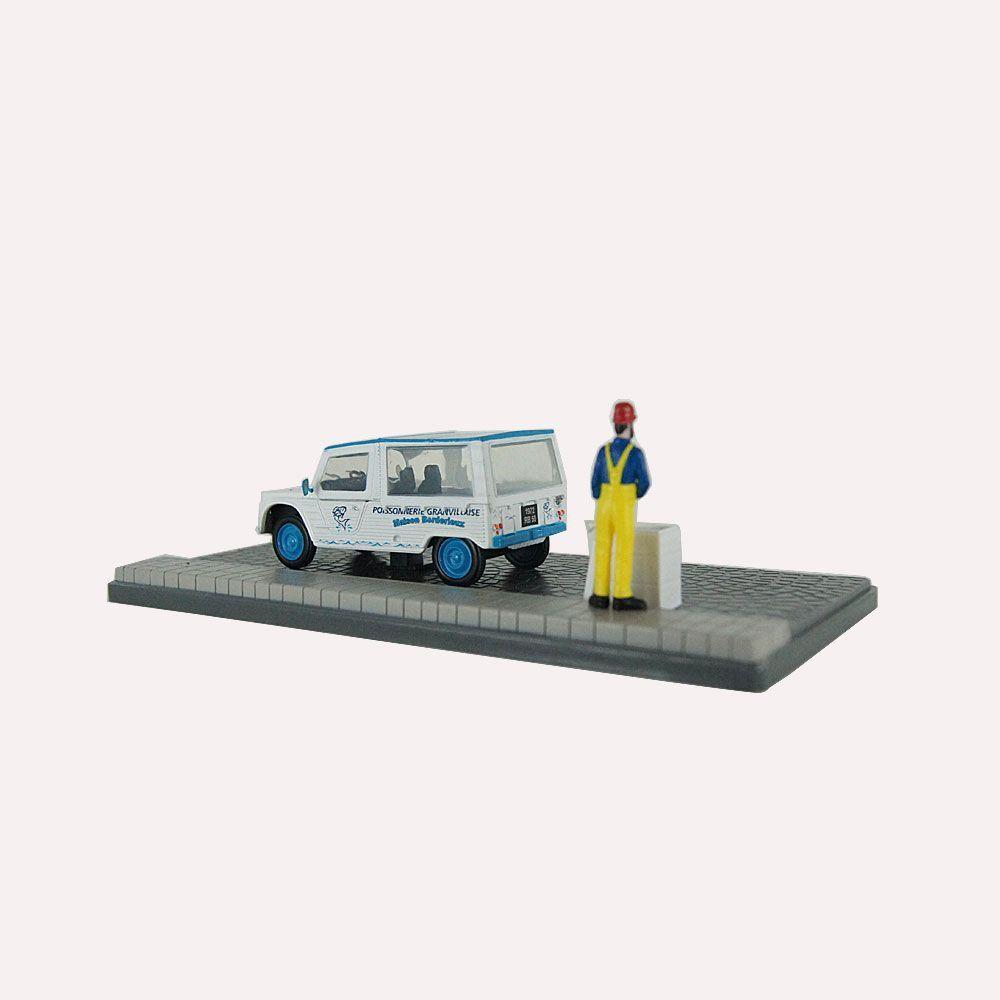 Diorama Citroen Méhari Peixeiro 1/43 Atlas