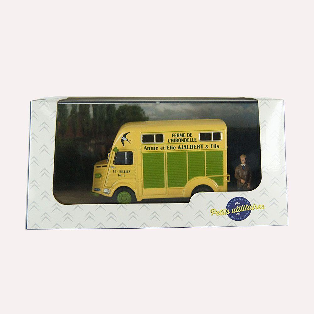Diorama Citroen Tipo H Comerciante de Gado 1/43 Atlas
