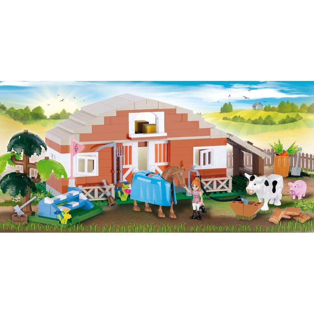 Fazenda no Campo Blocos de Montar 310 peças Cobi