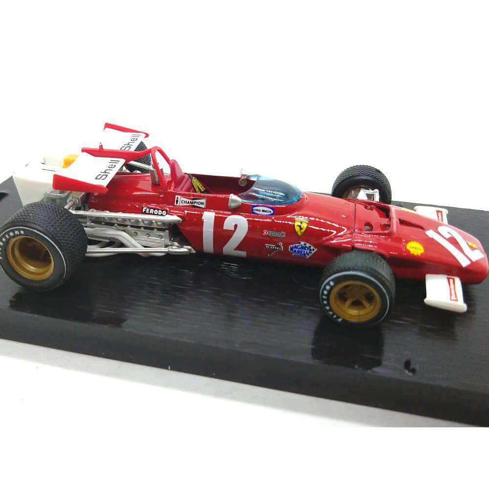 Miniatura Ferrari 312B GP Austria 1970 Jacky Ickx 1/43 Brumm