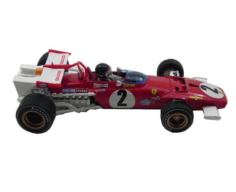 Miniatura Ferrari 312B GP Italia 1970 Jacky ICKX 1/43 Brumm