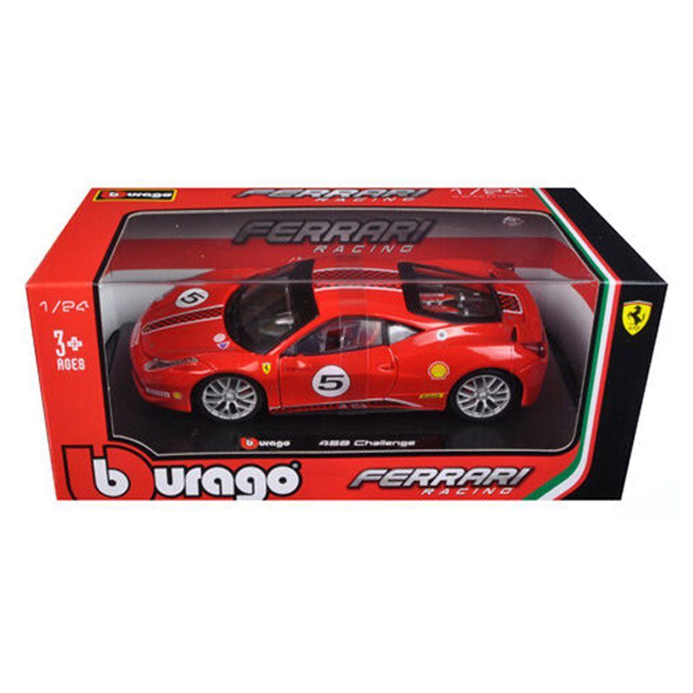 Miniatura Ferrari 458 Challenge 1/24 Bburago