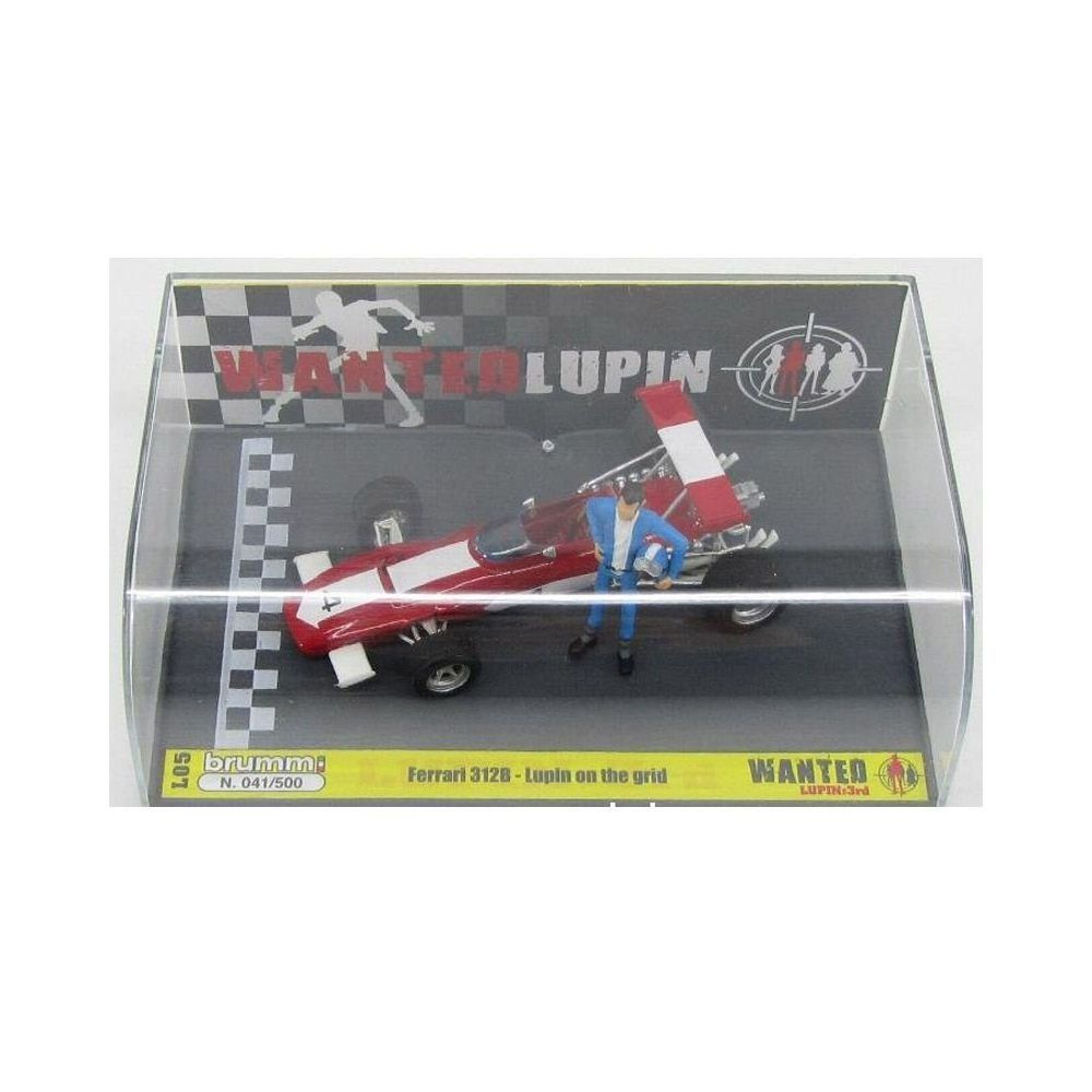 Miniatura Ferrari Formula 1 312 B #4 Lupin On The Grid 1970 1/43 Brumm