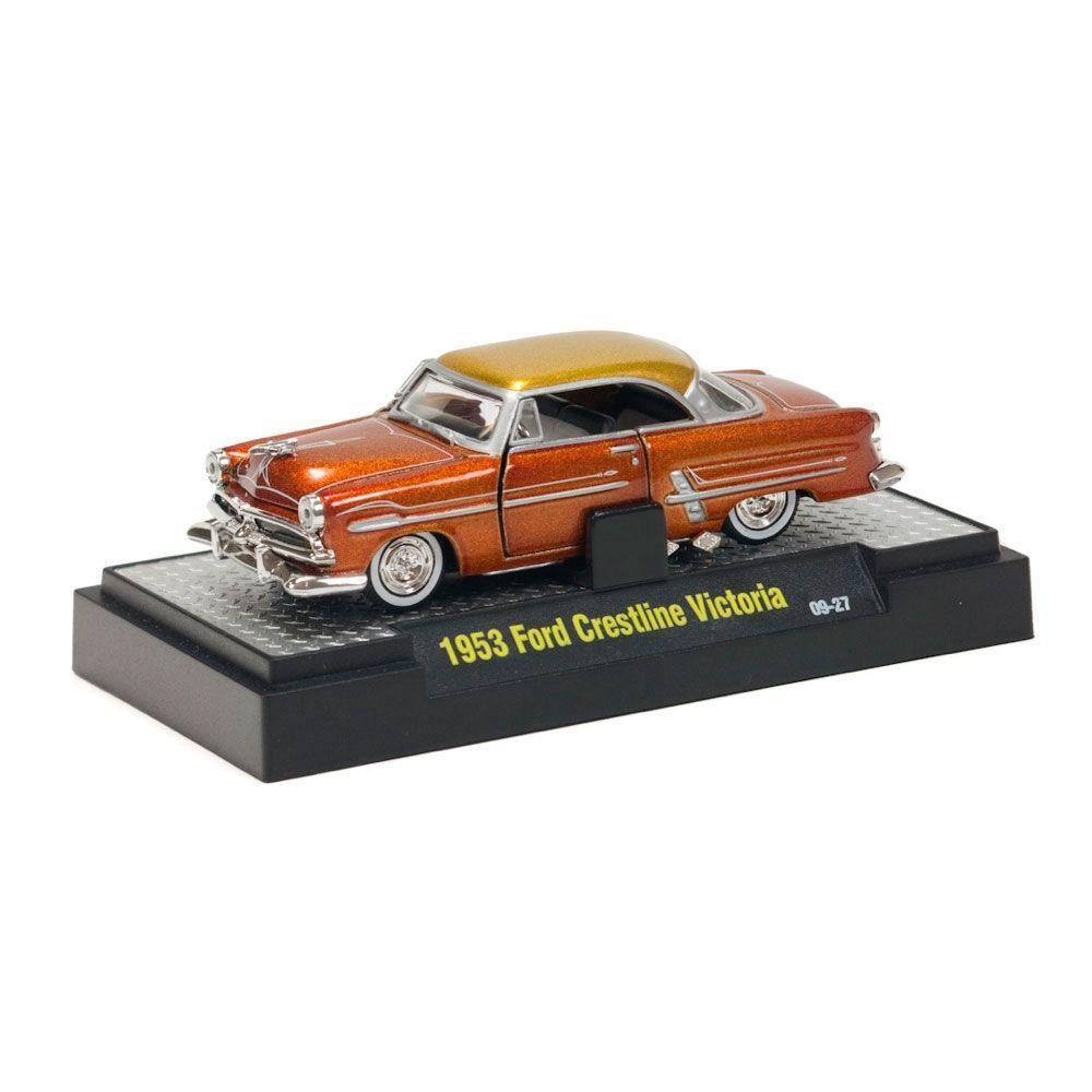 Miniatura Ford Crestline Victoria 1953 1/64 M2 Machines