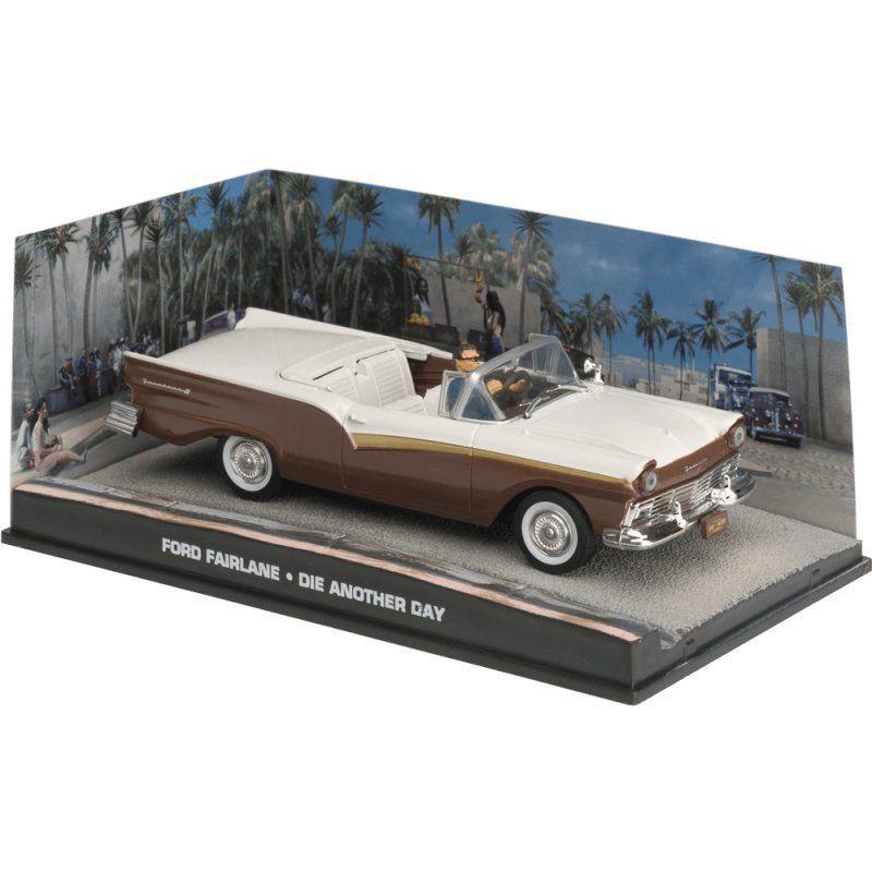 Miniatura Ford Fairlane – 007 James Bond Um novo dia para morrer 1/43 IXO