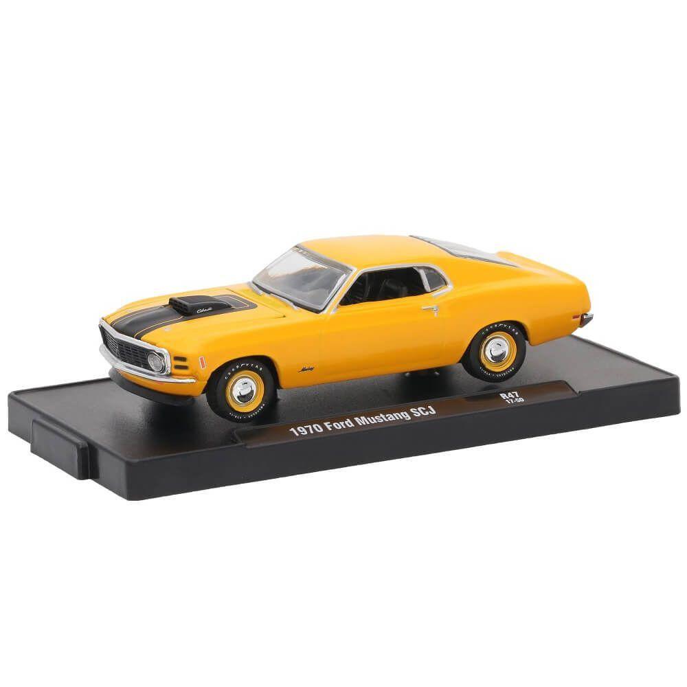Miniatura Ford Mustang SCJ 1970 1/64 M2 Machines Auto Drivers