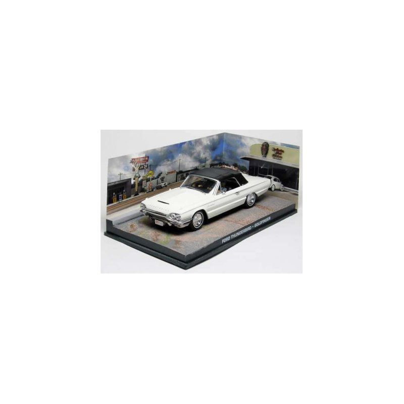 Miniatura Ford Thunderbird 1/43 IXO –  007 James Bond  Contra Goldfinger