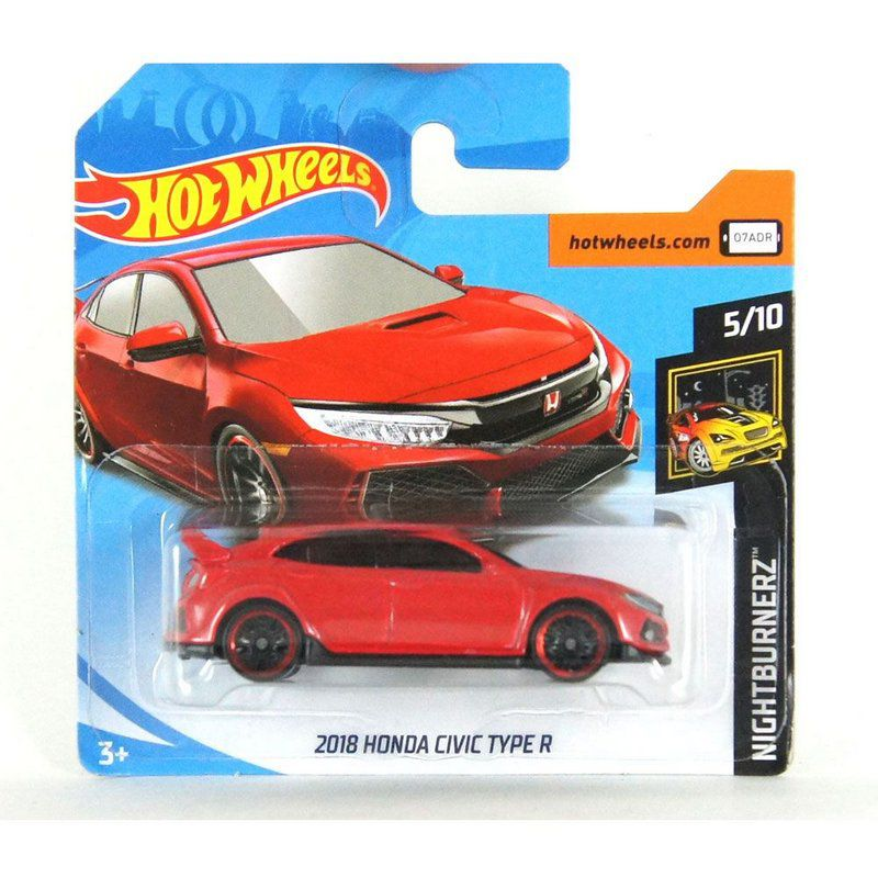 Honda Civic Type R 2018 Nightburnerz 1/64 Hot Wheels