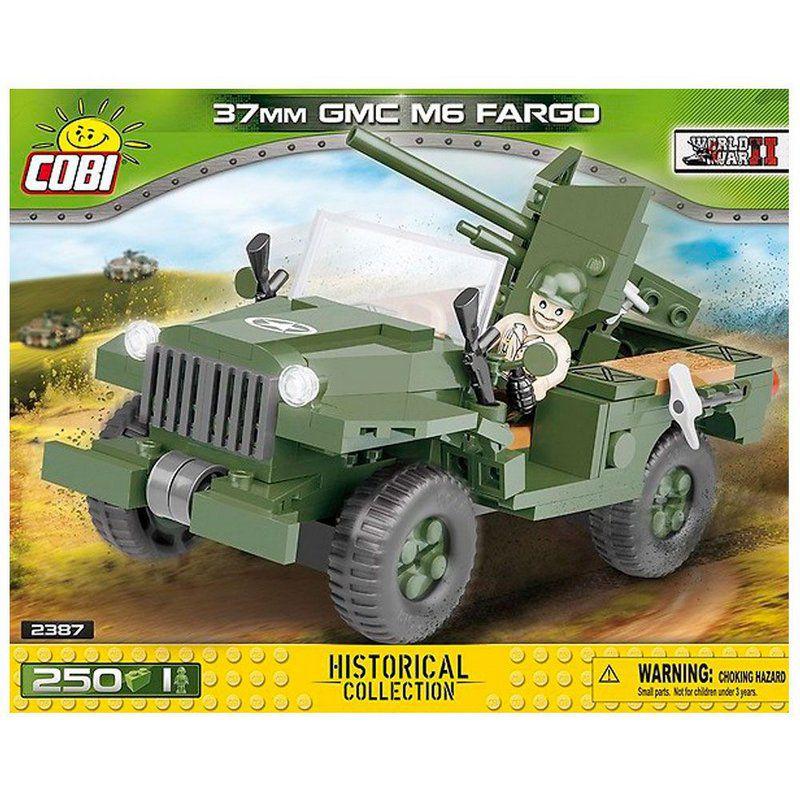 Jeep Americano Anti Tanque blocos de montar com 250 peças Cobi